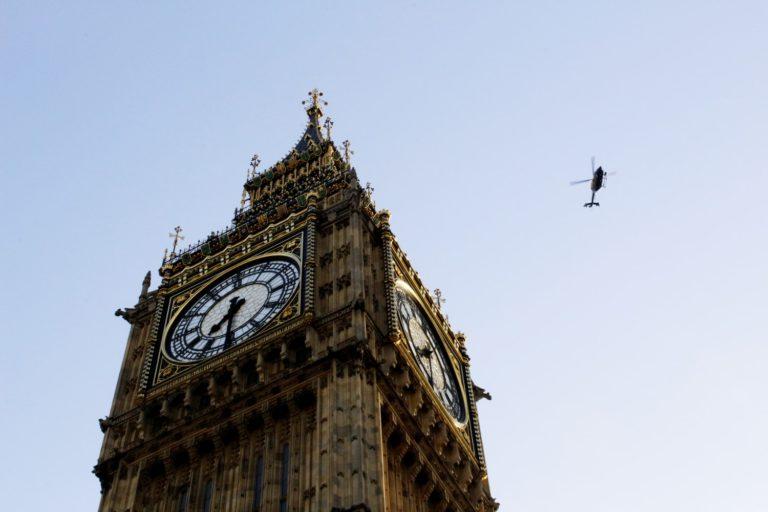 Vol en hélicoptère à Londres (depuis Redhill)