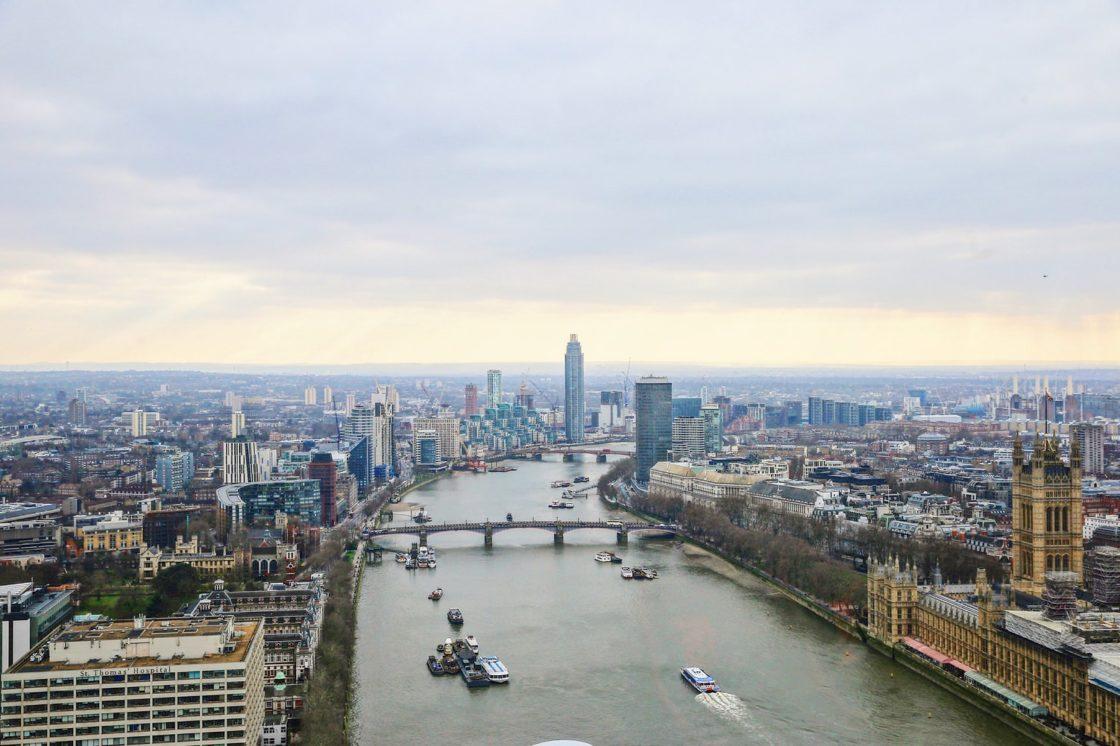 Hélicoptère Londres