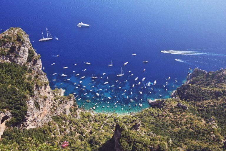 Vol en hélicoptère Naples et Capri