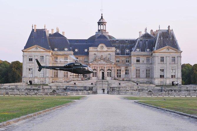Vol en hélicoptère: de Paris à Vaux-le-Vicomte